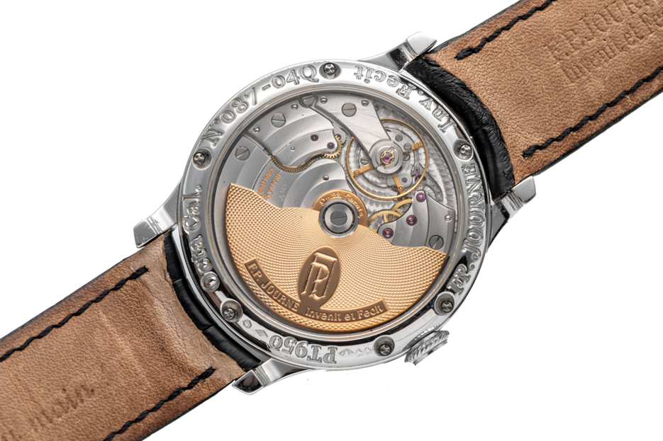 In January, Antiquorum sold a platinum-cased 2004 Octa Calendrier with a golden dial and brass movement for more than double its estimate to fetch Euros 188,500.