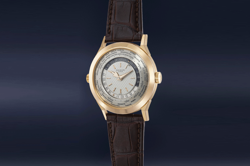 In November 2020, Phillips in Association with Bacs & Russo's Geneva Auction XII sold a rare Patek Philippe world timer ref. 2523/1 for USD 5.5 million. This was one of the top five watches by value sold online by the auction house last year.
