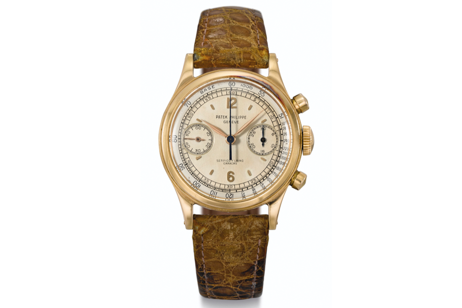 The Patek Philippe reference 1463 in pink gold was the most valuable watch (USD 600,00) sold by Christie's at its online auction in December 2020.