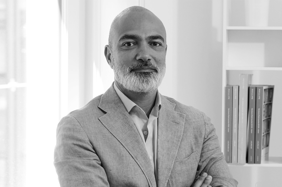 Alexandre Ghotbi,Phillips head of Watches, Continental Europe, and Middle East director.