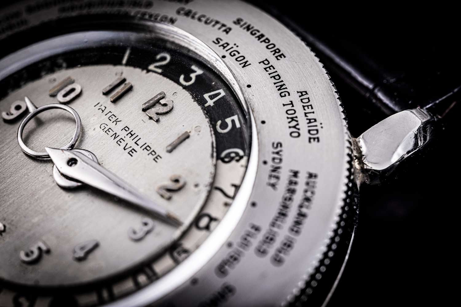 Made in 1946, the unique platinum reference 1415 HU sold for a record CHF 6.6 million at Antiquorum's auction in 2002