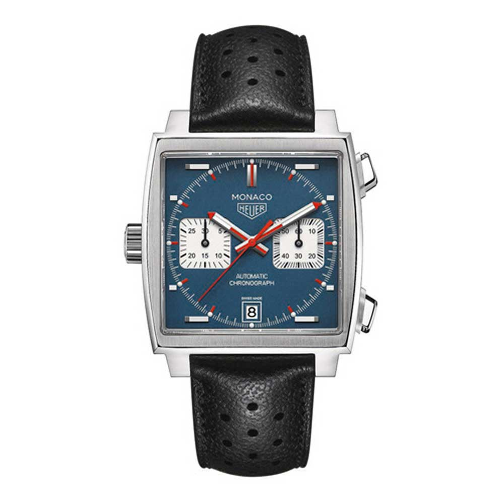 The Heuer Monaco from 1969 was the very first waterproof, automatic chronograph in a square case.