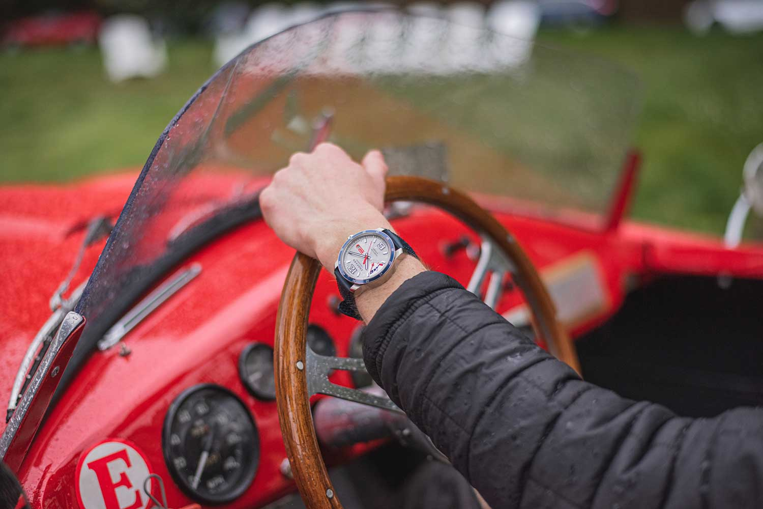 """Chopard has been the """"Official Timekeeper"""" of the annual California Mille for three years now"""