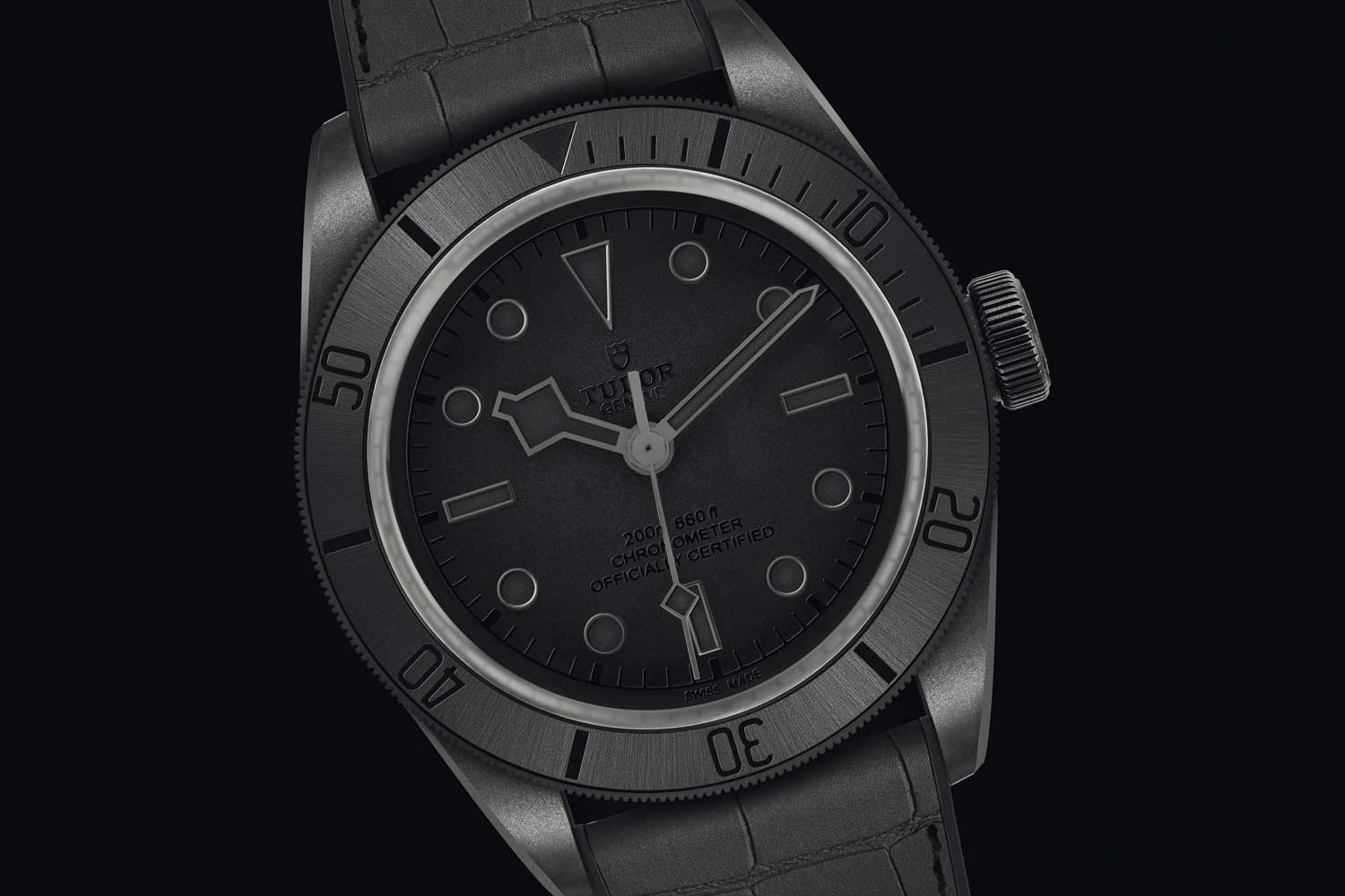 The Tudor Black Bay Ceramic One sold for a staggering CHF350k at the Only Watch auction in 2019