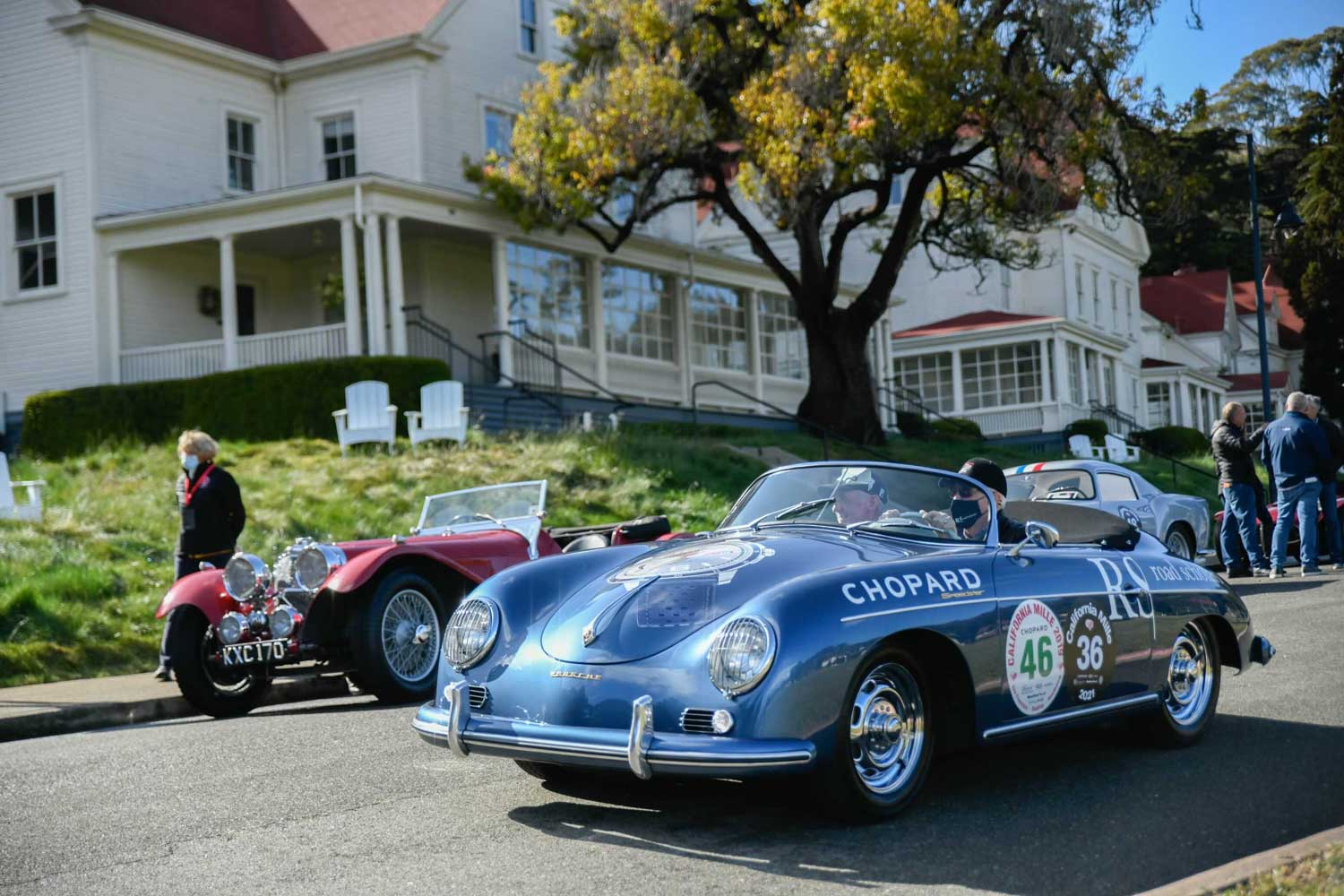 Road Scholars and Ingram Collection 1957 356A Speedster sponsored by Chopard (Image: Hagerty)
