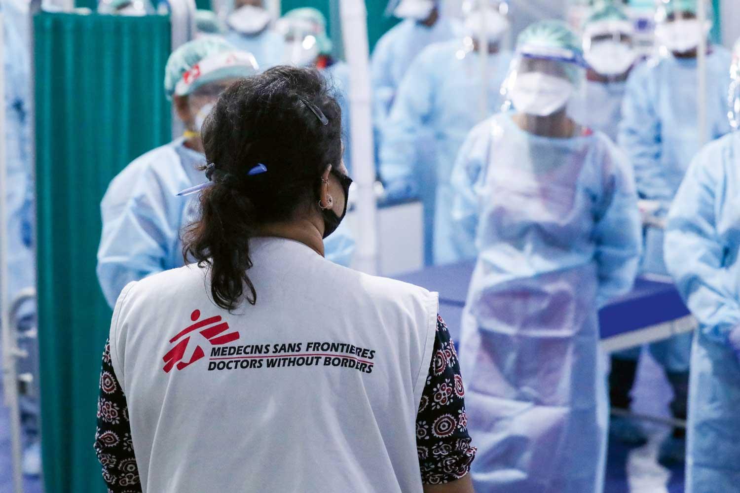 This is the tenth year of cooperation between Doctors Without Borders and Nomos.