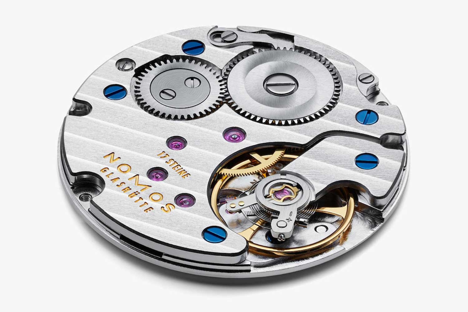 The watch is powered by Nomos' in-house manual-winding Alpha calibre.