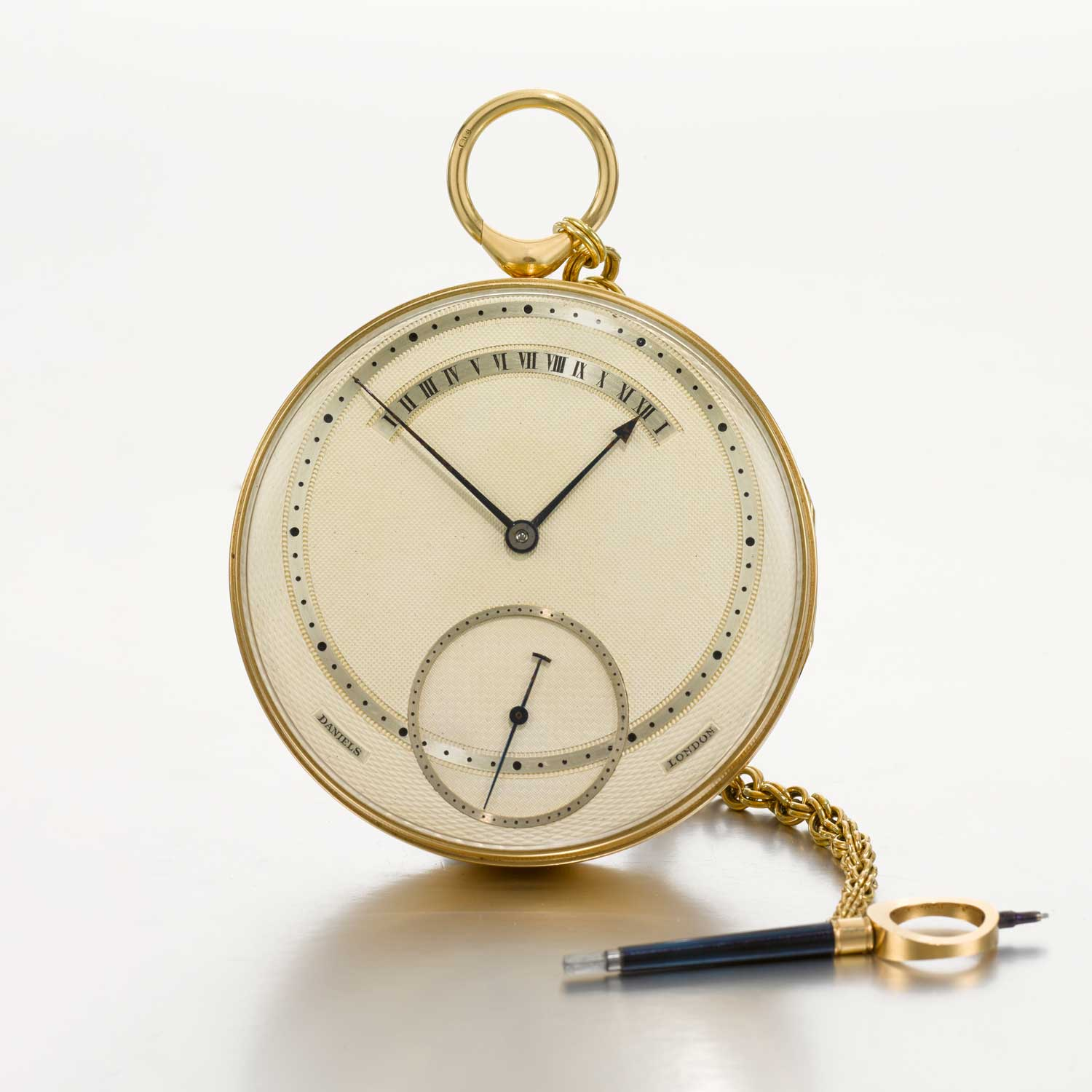 George Daniels' tourbillon pocket watch with a self-starting detent escapement (Image: Sotheby's)