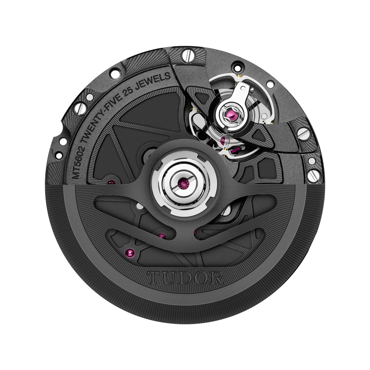 The watch is powered by a new manufacture movement, calibre MT5602-U1 with silicon hairspring that is antimagnetic up to forces of 15,000 gauss