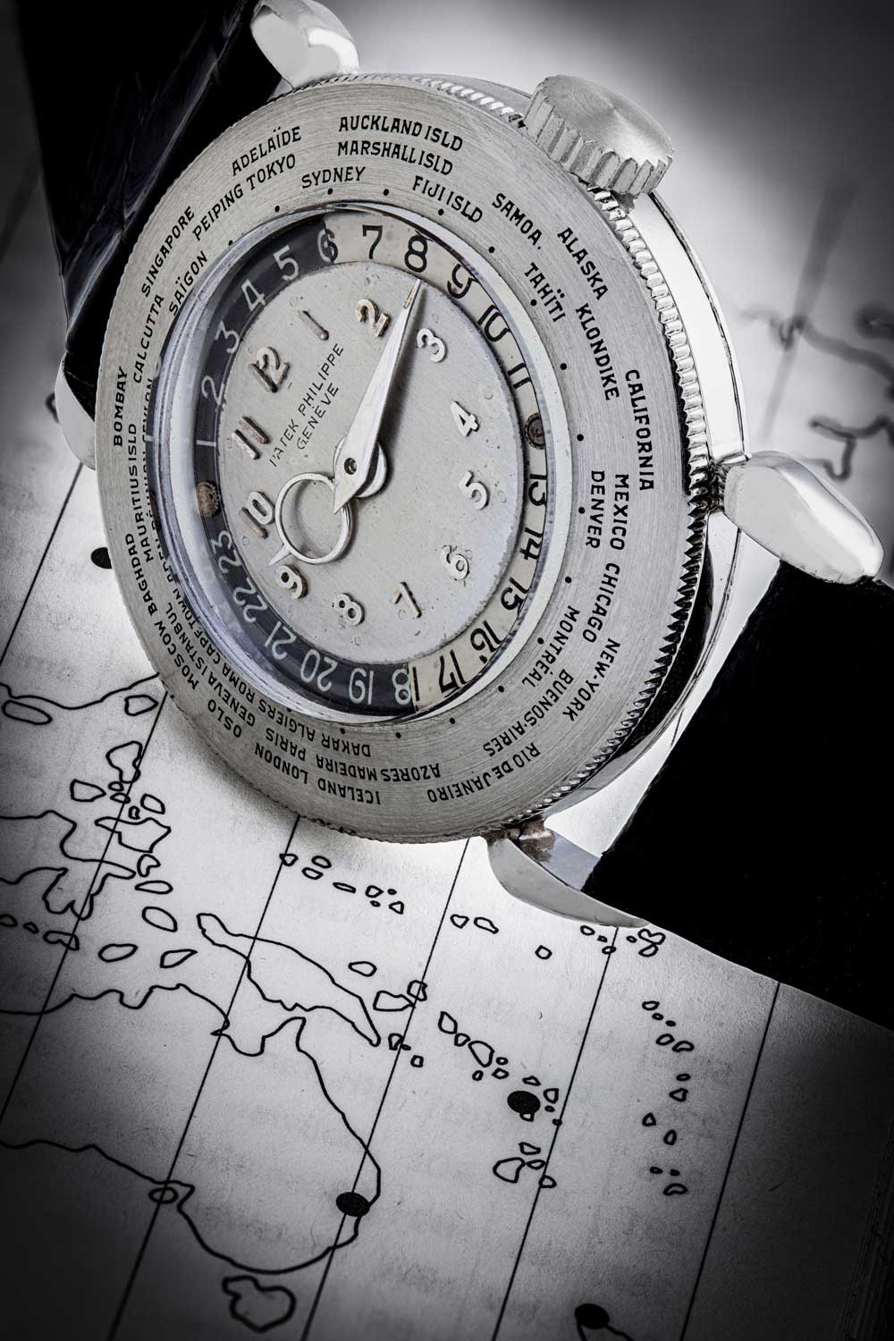 Patek Philippe platinum reference 1415 HU, the only piece of its kind in the world