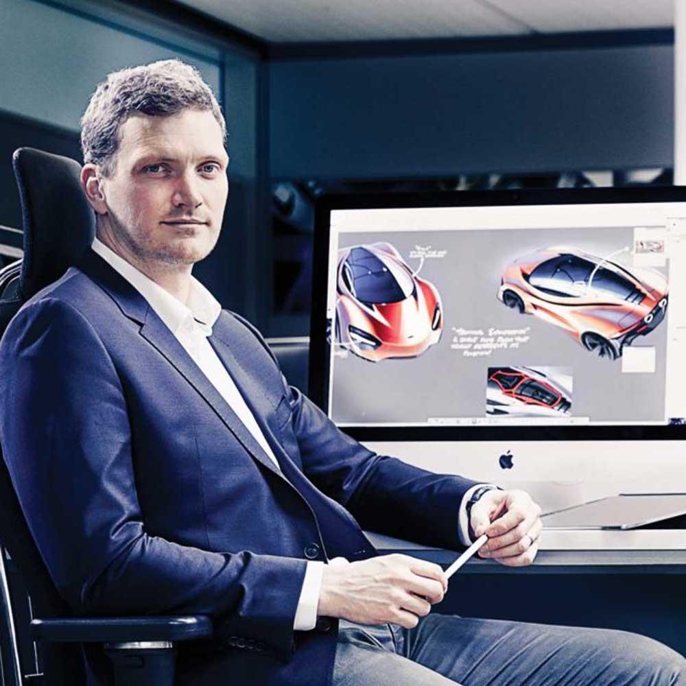 McLaren Design Director Robert Melville