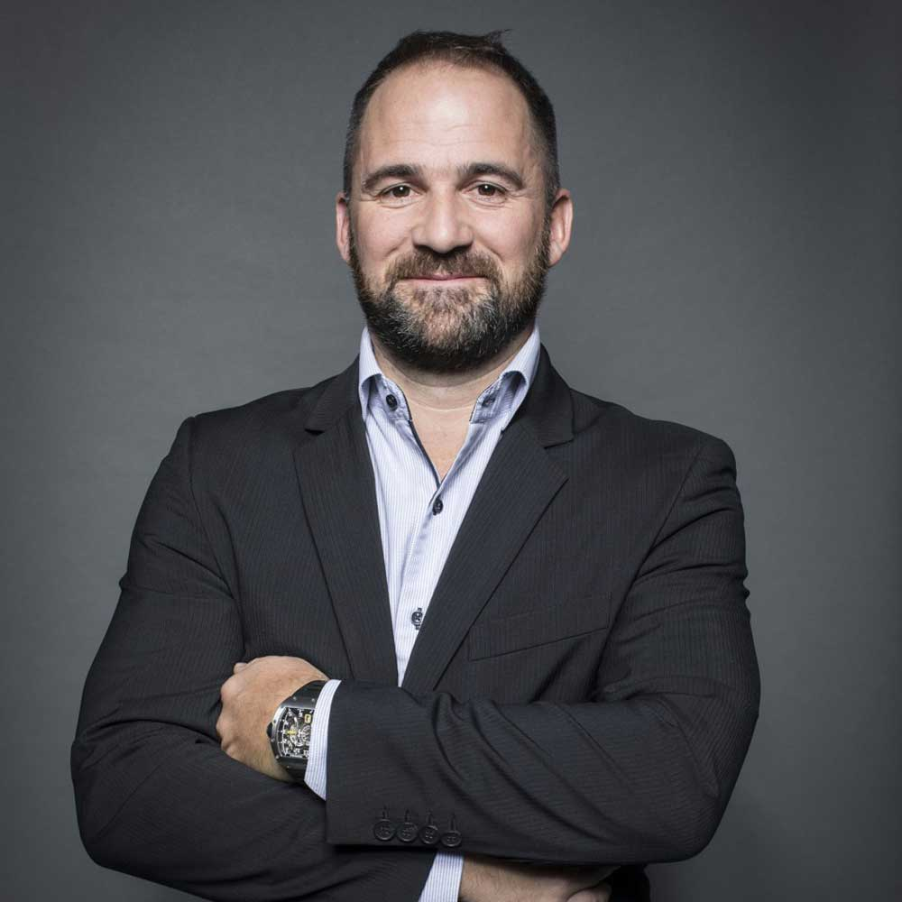 Julien Boillat, Richard Mille's technical director of case making