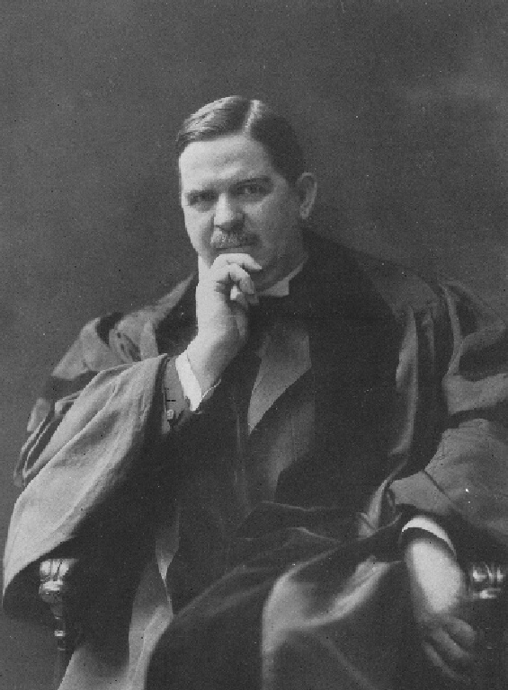 Portrait of Rev. S. Parkes Cadman (1864-1936) at age 46 in 1910 (Wikimedia Commons)