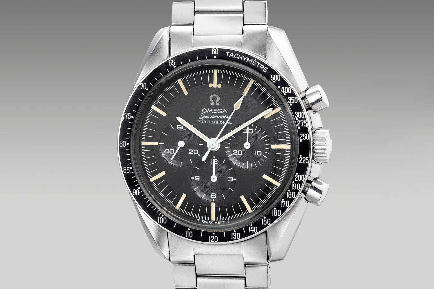 A excellent example of the Speedmaster ref. 145.012 sold by Phillips Watches at their July 2020 Hong Kong auction (philllips.com)