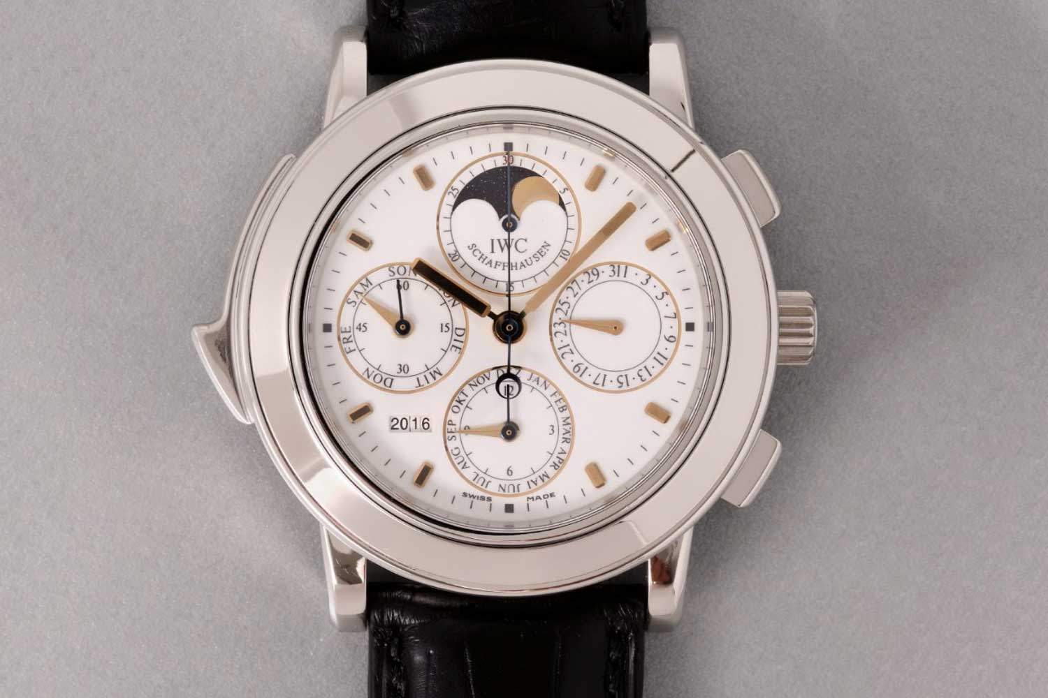 Renaud & Papi's first watch was the landmark IWC Grande Complication ref. 3770