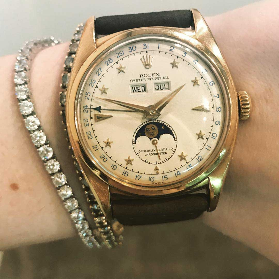 J.J.'s grail watch is the Rolex reference 6062