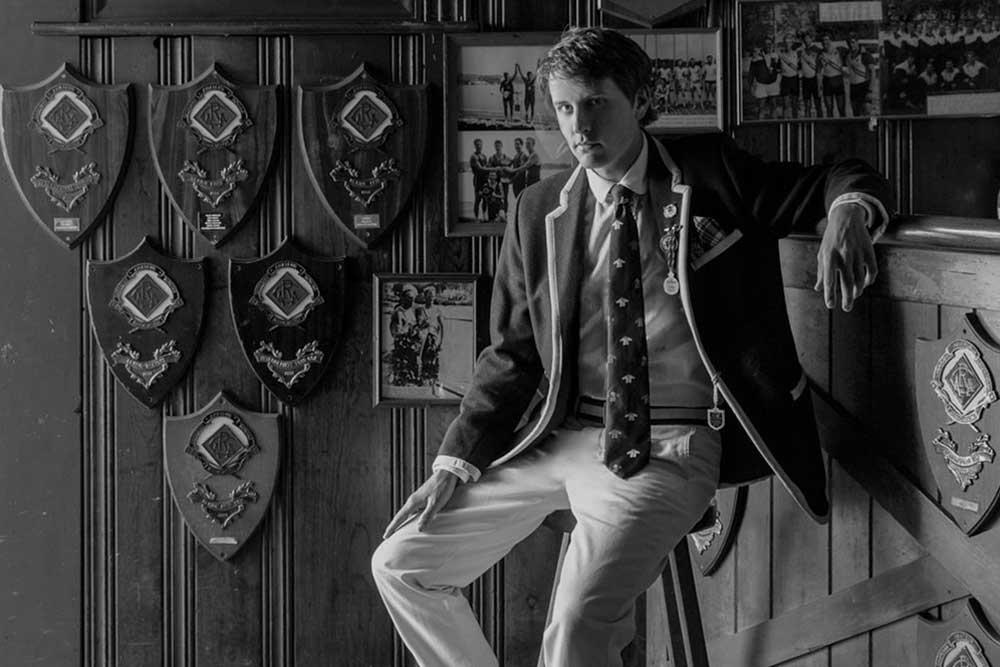 Jack Carlson, founder, Rowing Blazers (Image: Jason Varney)