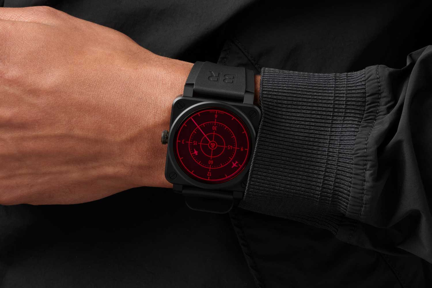 The Red Radar Ceramic takes the same innovative radar screen concept of the Red Radar from 2011 and adds a new and even more playful dynamic.