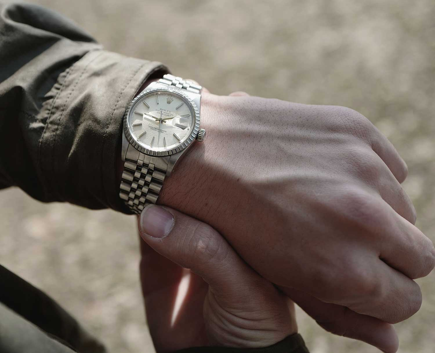 Berend's first Rolex was a Datejust reference 16030