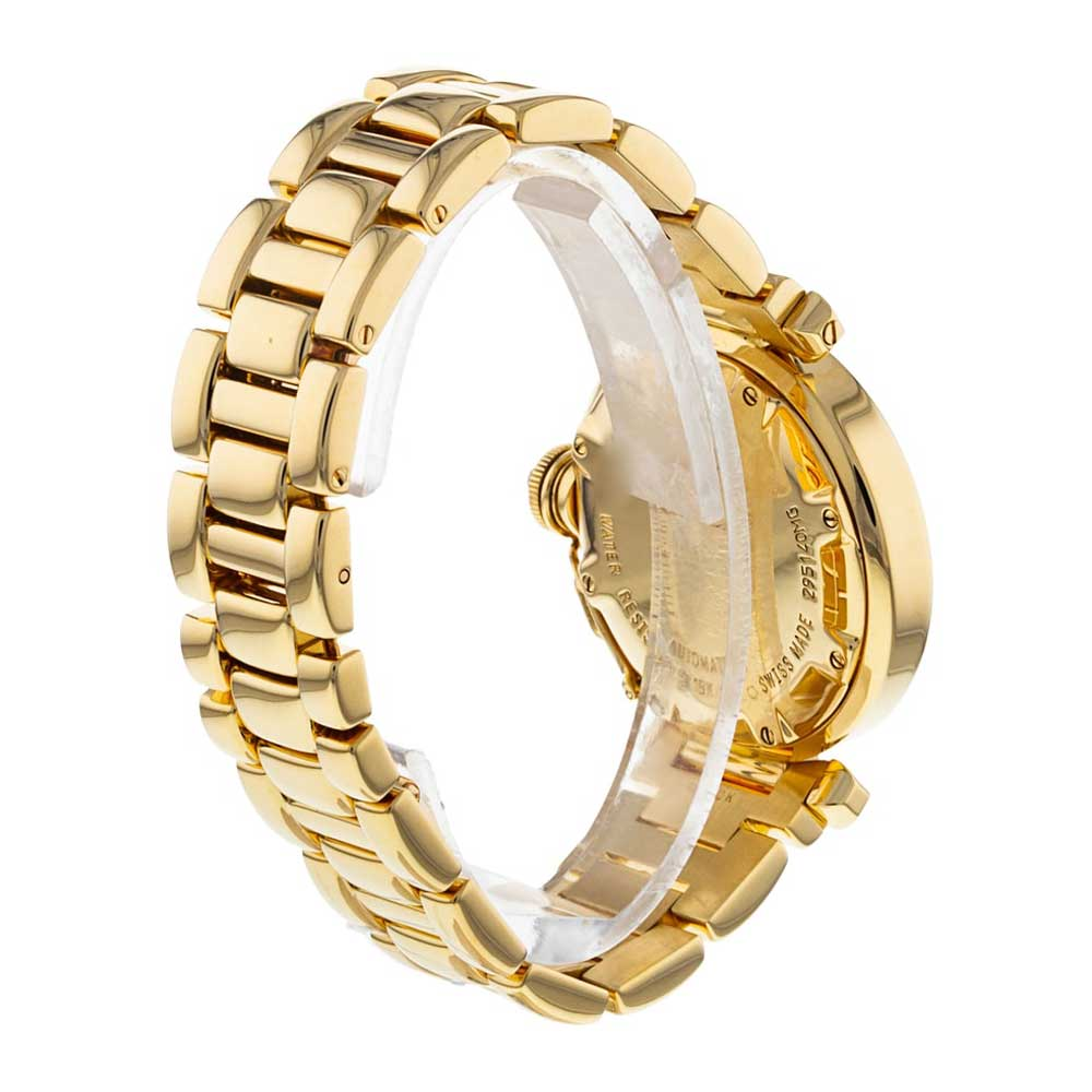 This 32mm yellow gold example of the Cartier Pasha at our shop is from 2000.