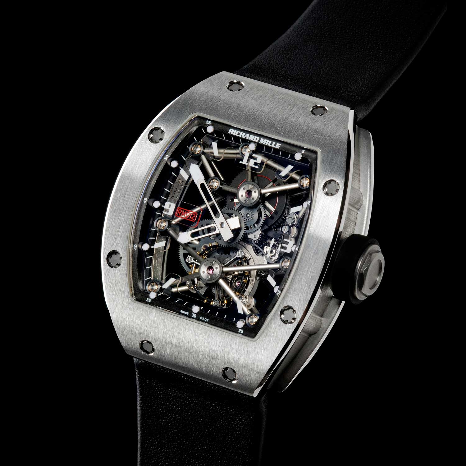 The RM 012 Tourbillon, winner of the Aiguille d'Or prize at the 2007 GPHG