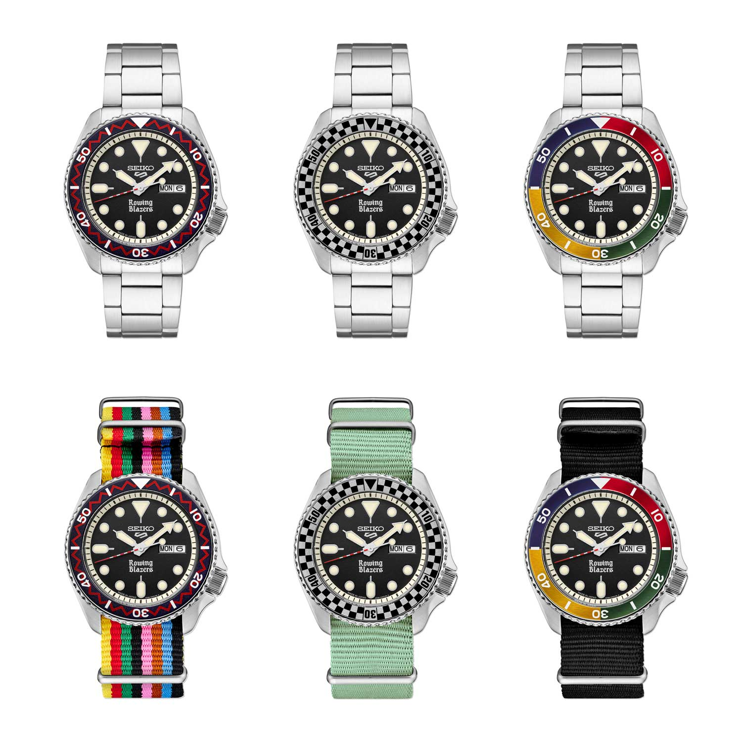 Designed by Jack Carlson and Seiko's, the new collaborative capsule includes two limited-edition watches and one special edition.