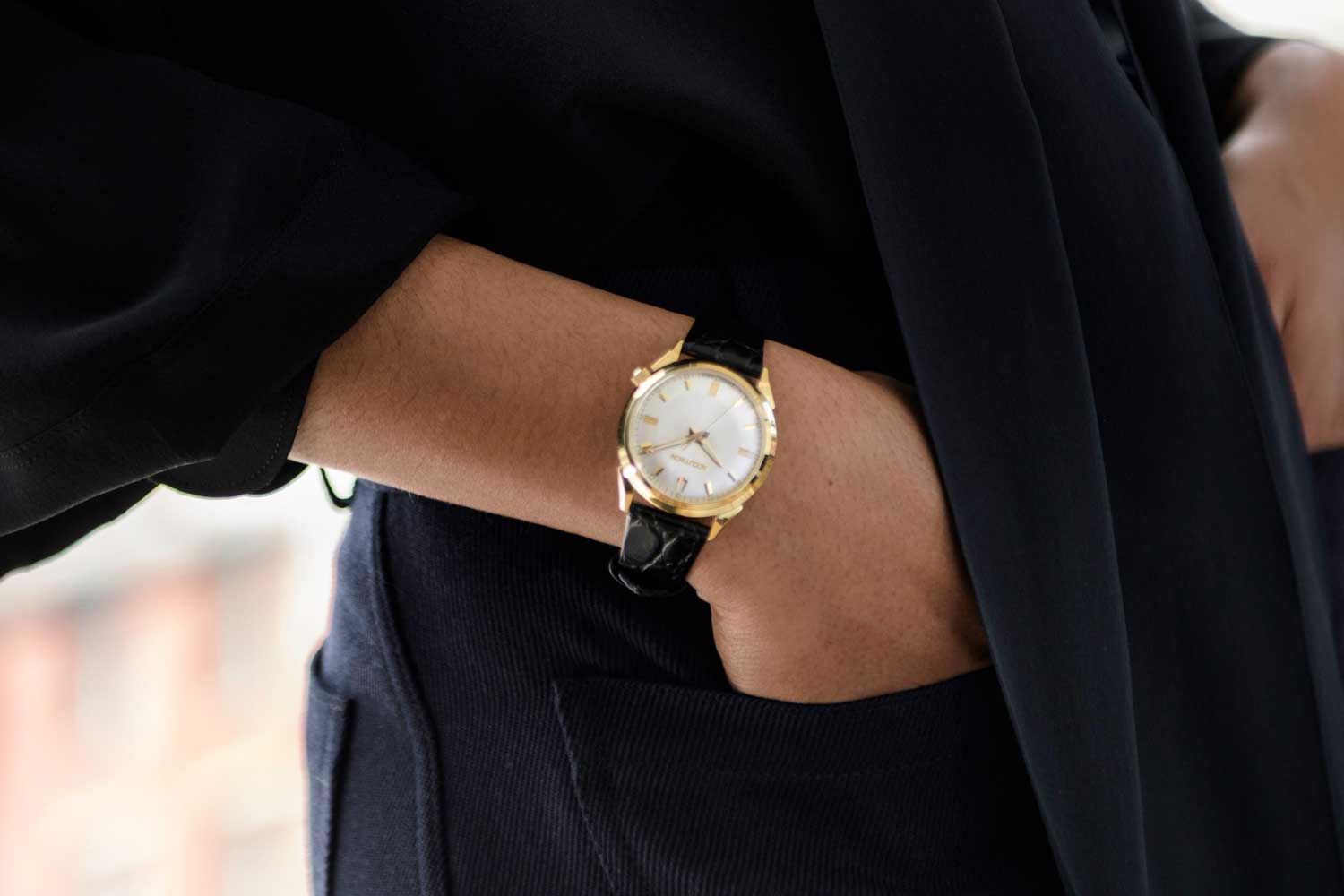 The watch is directly influenced by the Ivy League style of dress that began to emerge in the late 50's through to the 60's.