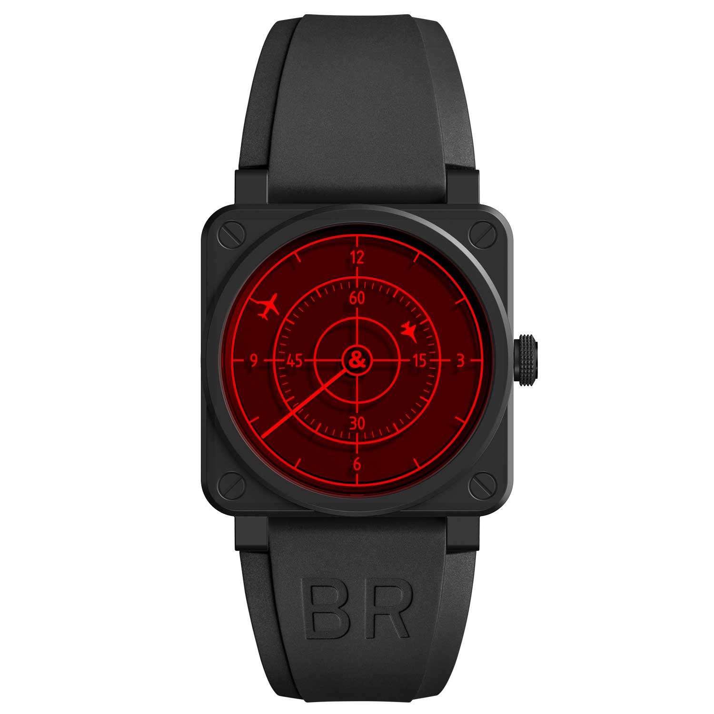 Bell & Ross BR03-92 Red Radar Ceramic