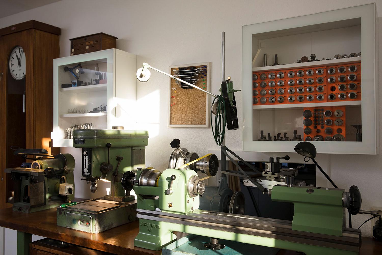 Marco's workshop in Dresden