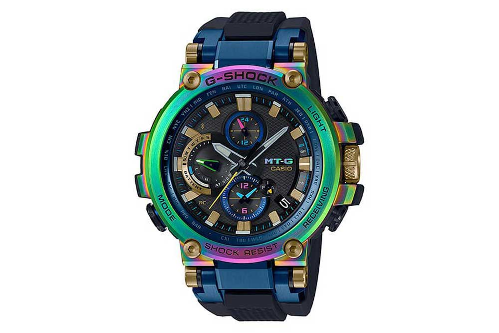 """Released in 2019, the MTG-B1000RB """"Lunar Rainbow"""" marked the 20th anniversary of the MT-G collection."""