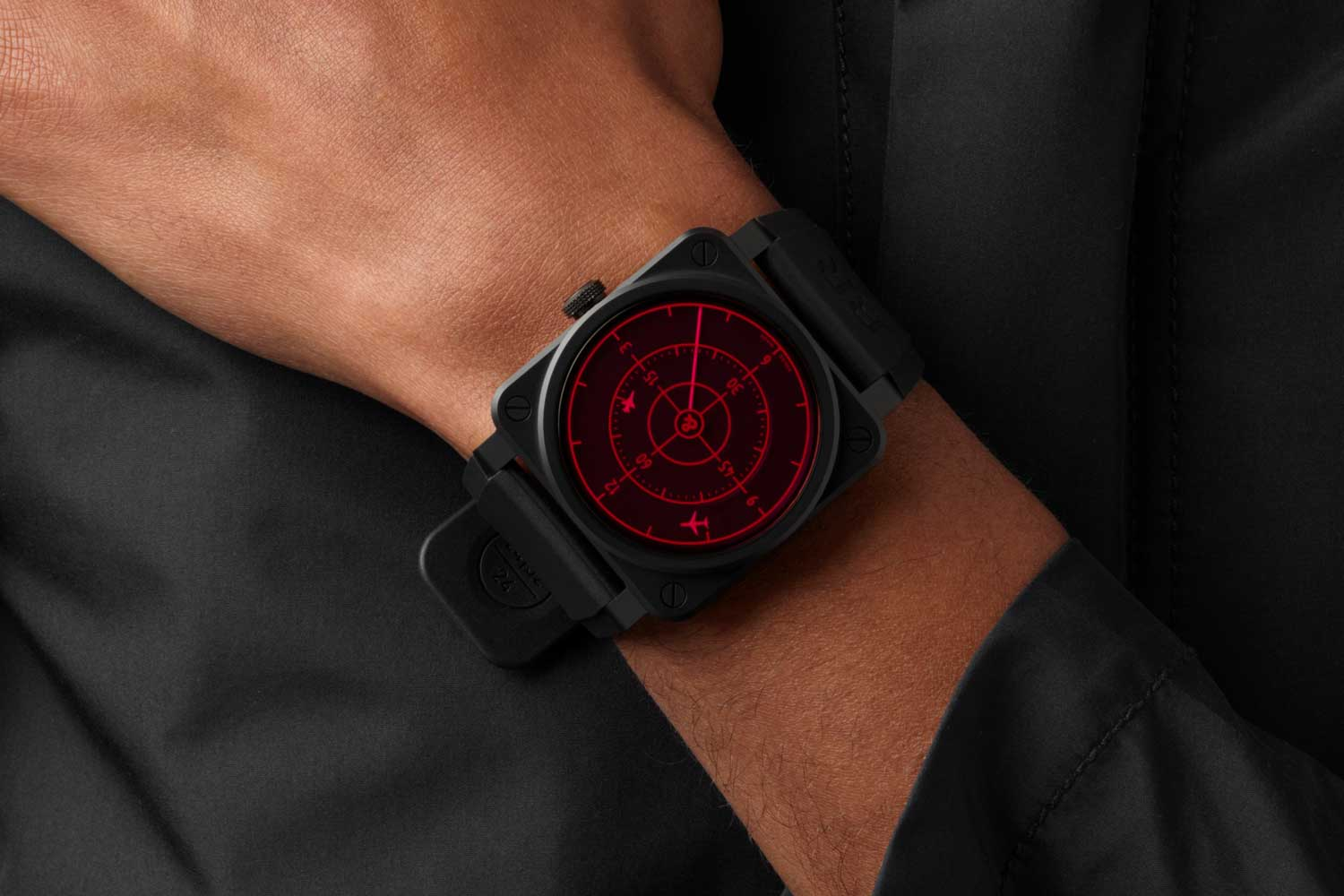 The BR03 Red Radar Ceramic is limited to 999 pieces