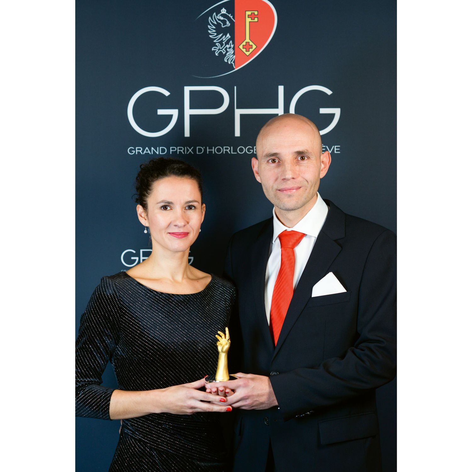 In 2019, Stefan Kudoke became the first independent watchmaker from Germany to be awarded the Grand Prix d'Horlogerie de Genève, in the Petite Aiguille category for the Kudoke 2 watch.