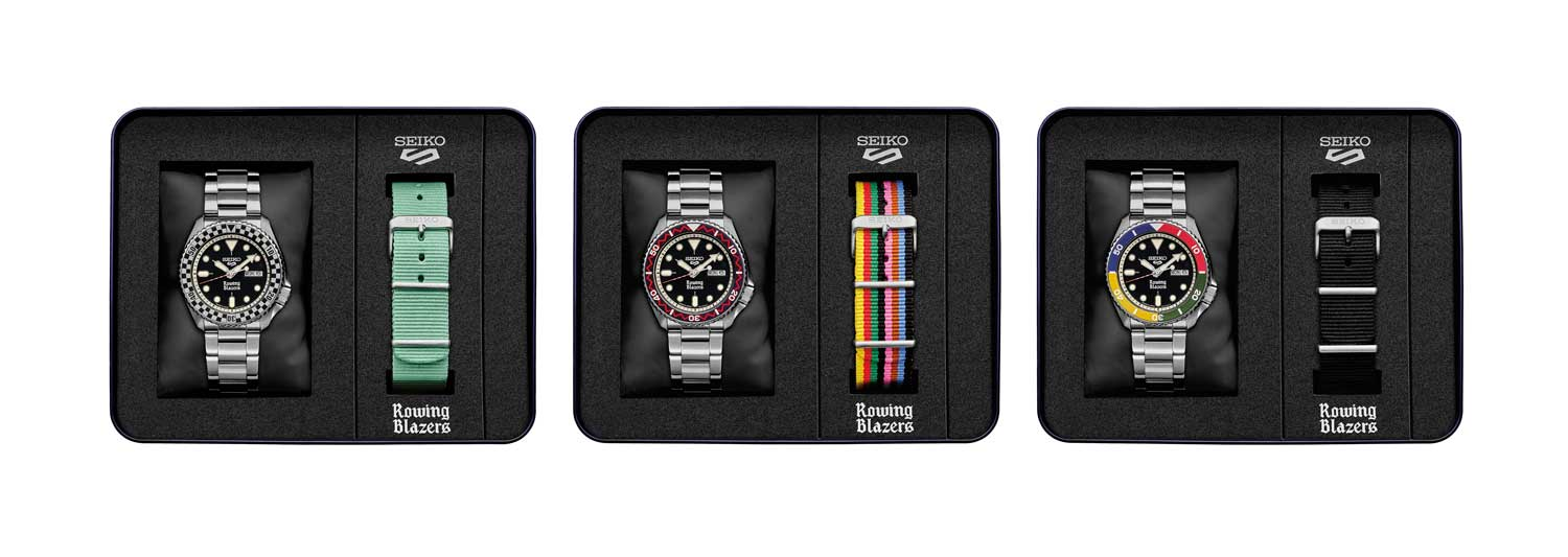 Each model comes with a stainless steel bracelet as well as a nylon strap