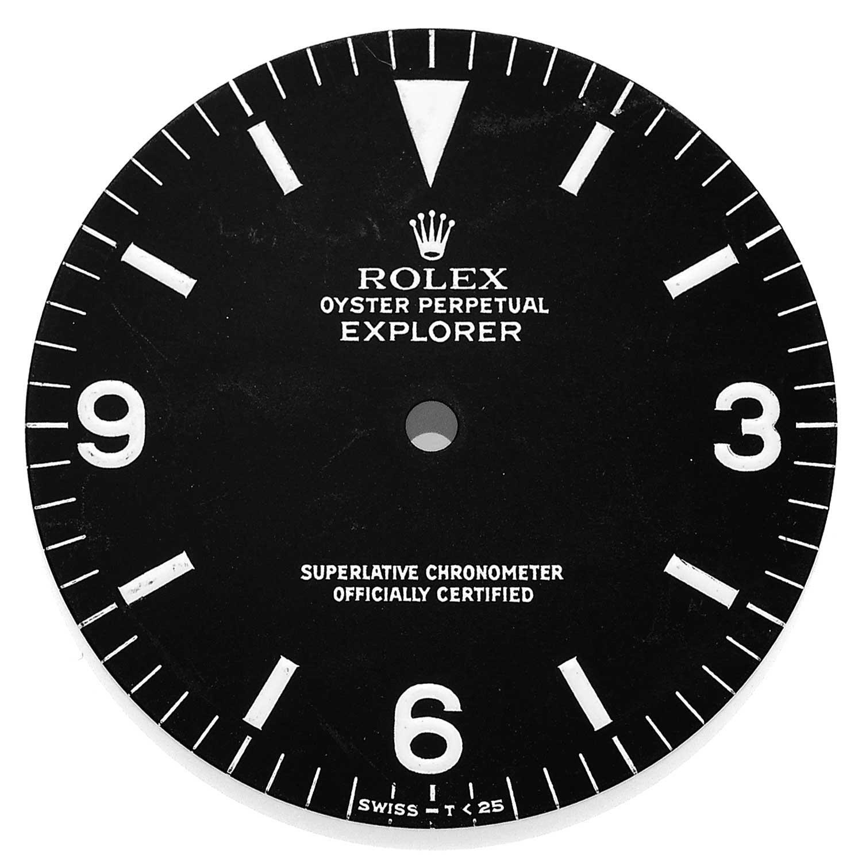 Rolex Explorer ref. 1016 Tritium dial