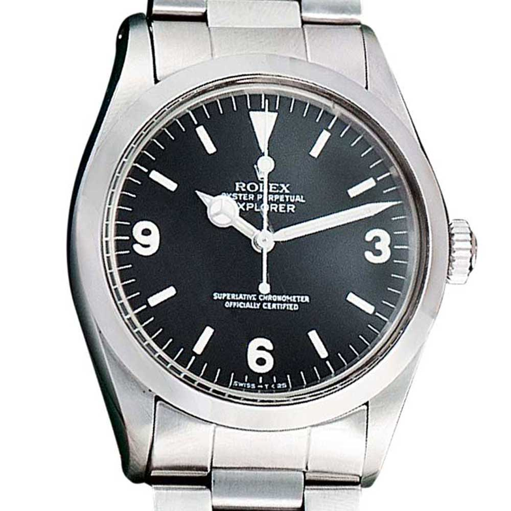 The Rolex Explorer ref. 1016 with hacking feature