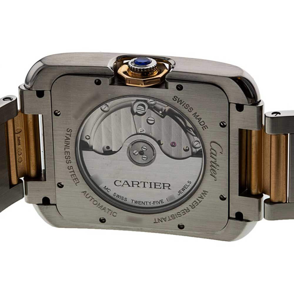 The watch is powered by the 1904 MC automatic caliber