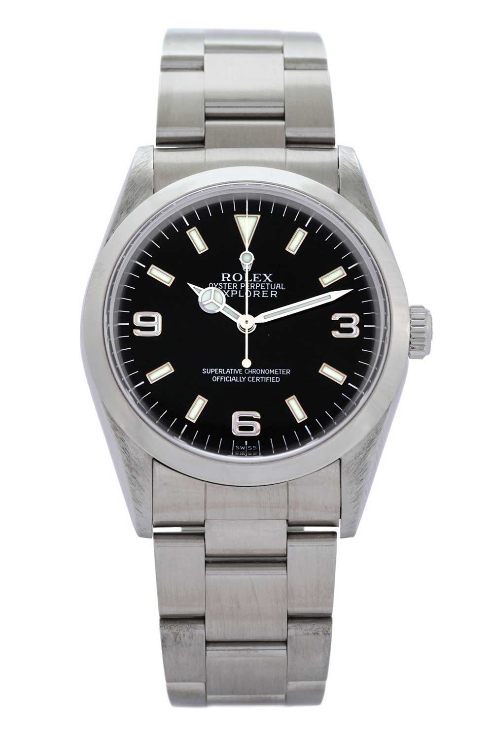 Introduced in the late 1980s, the Rolex Explorer ref. 14270 was in production for almost a decade