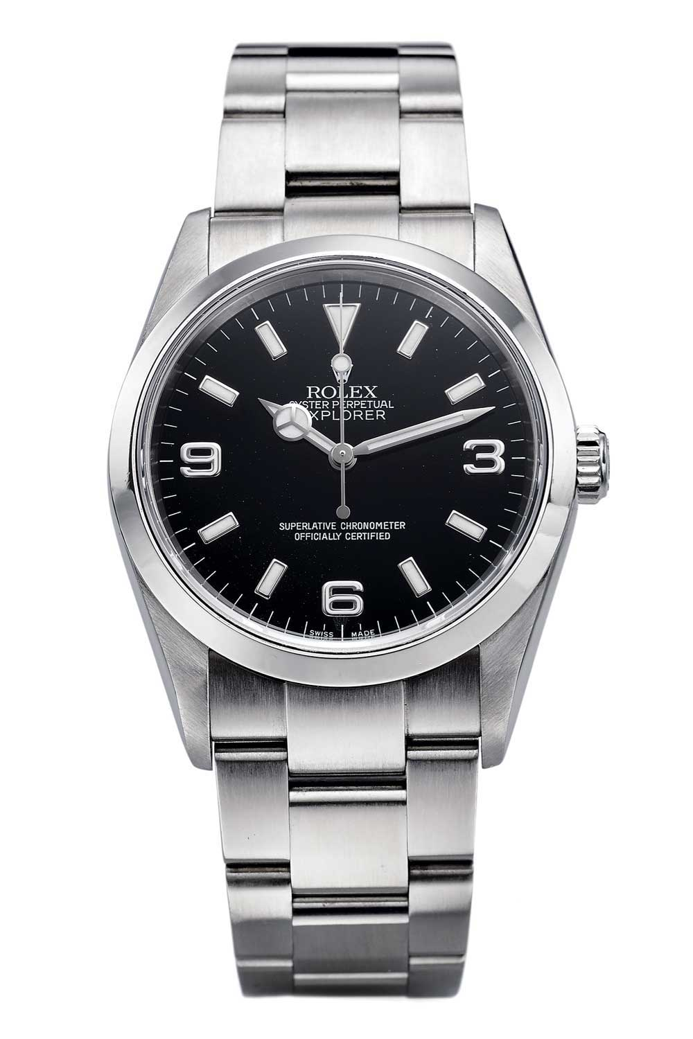 The Rolex Explorer ref. 114270 launched circa 2000 succeeded the ref. 14270