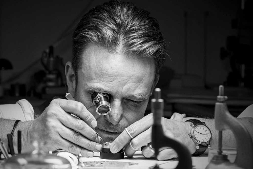 Peter Speake-Marin spent the first seven years of his career repairing and restoring some of the world's finest watches at Somlo Antiques in London.