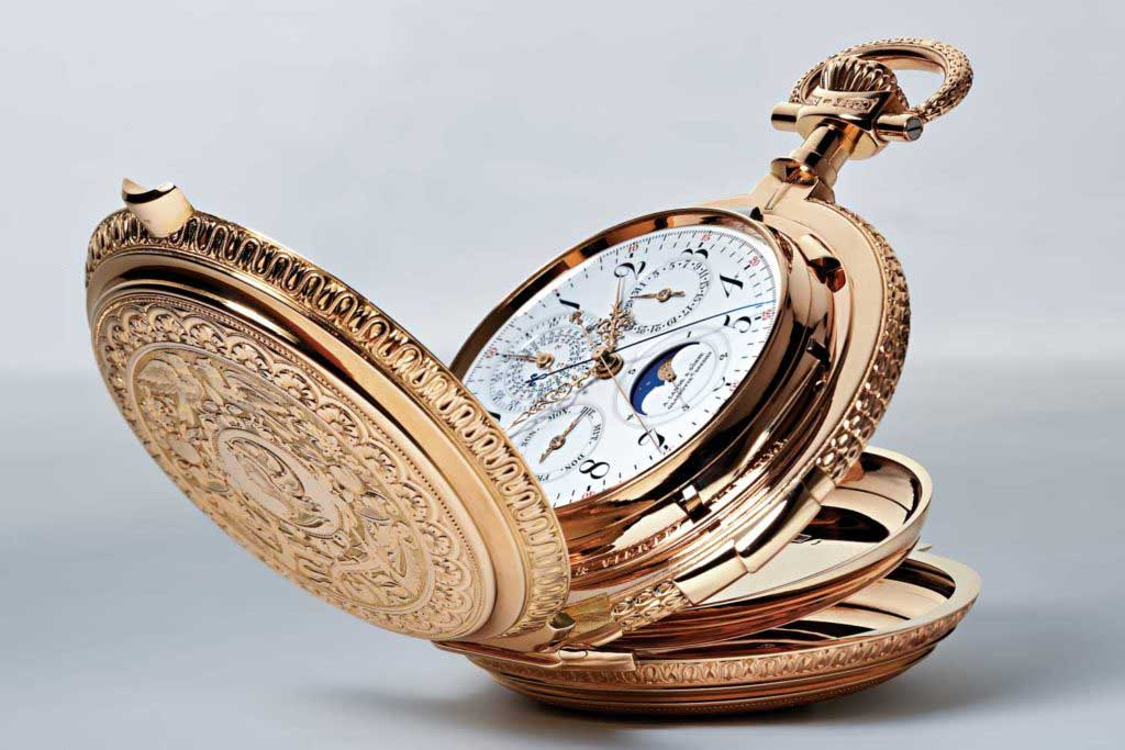 The stunning Grand Complication No. 42500 pocket watch