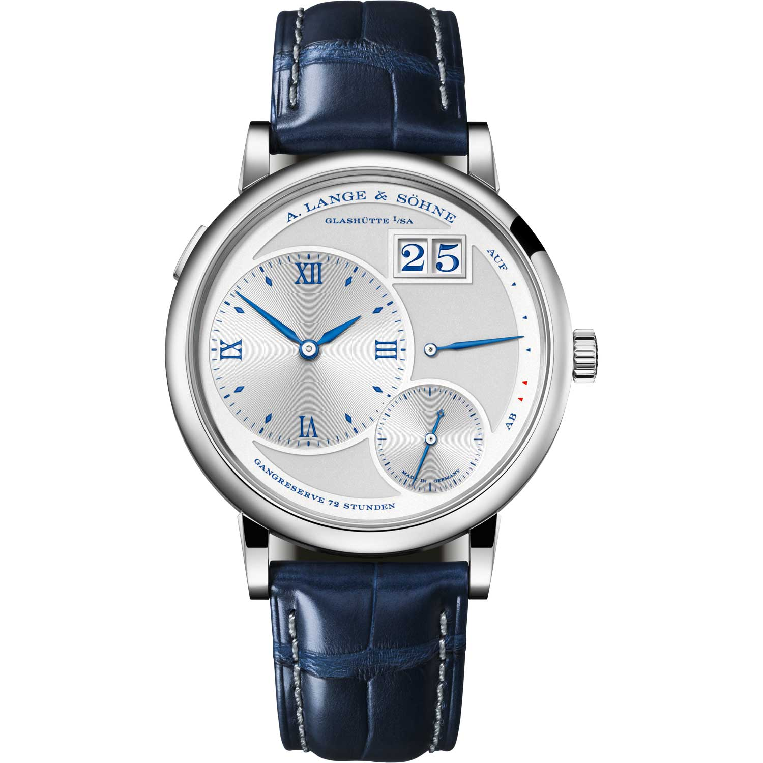 """GRAND LANGE 1 """"25th Anniversary ref. 117.066; 41.00mm; 25-piece limited edition; launched July 2019"""