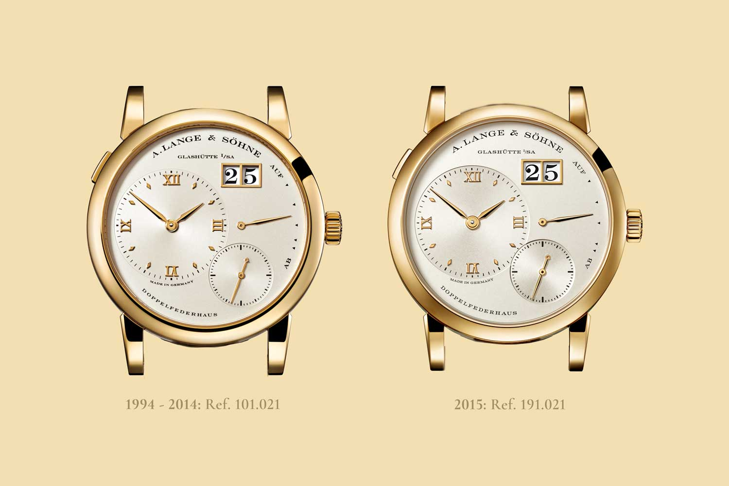 With the 2015, overhaul, changes made to the dial were painstaking refinements which are difficult to point out without having the the watches from the two generations side-by-side
