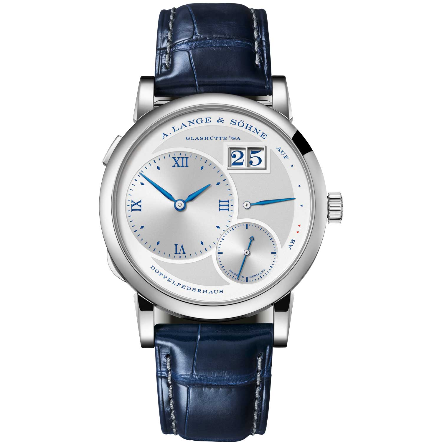 """The LANGE 1 """"25th Anniversary"""" launched at SIHH 2019, the ref, 191.066; 38.50mm 250-piece limited edition"""