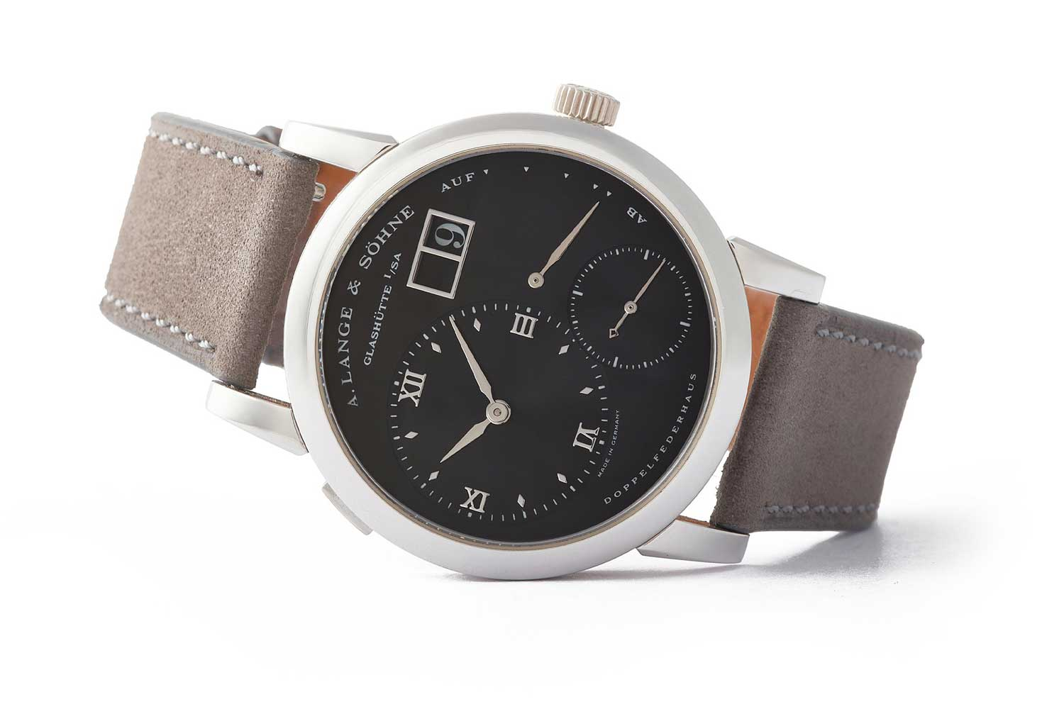 """The Lange 1 reference no. 101.035, also referred to as the """"Darth"""" (Image: acollectedman.com)"""