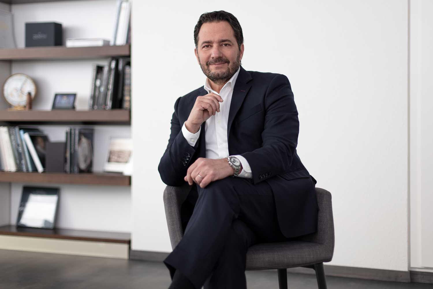 Julien Tornare, CEO of Zenith Watches