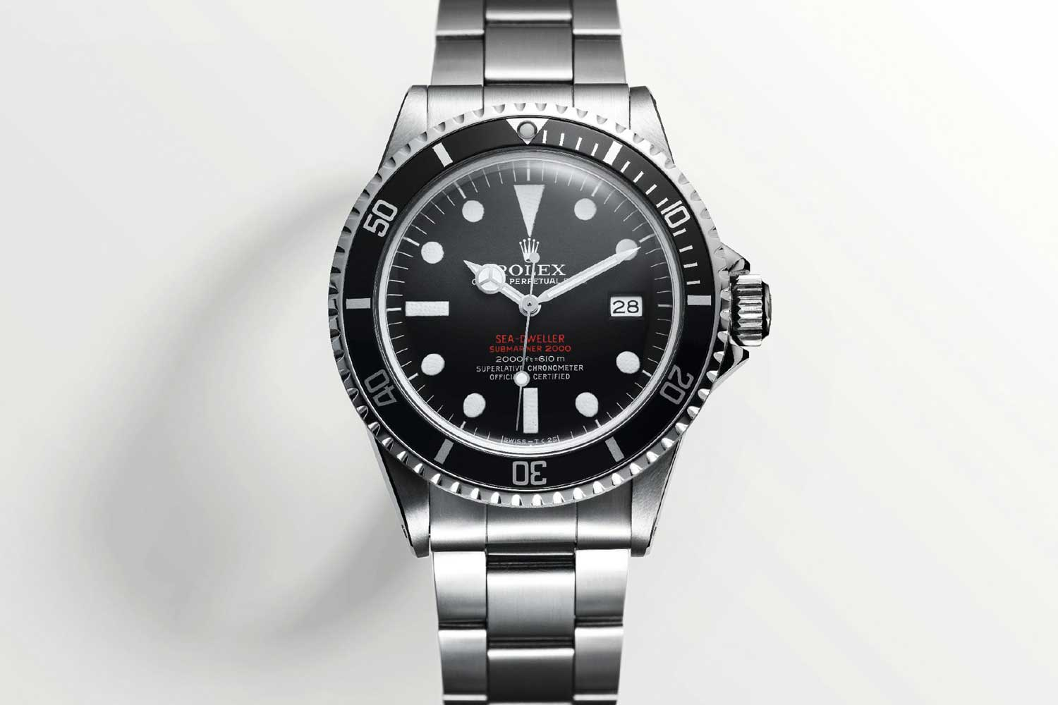 The first version of the Sea-Dweller from 1967