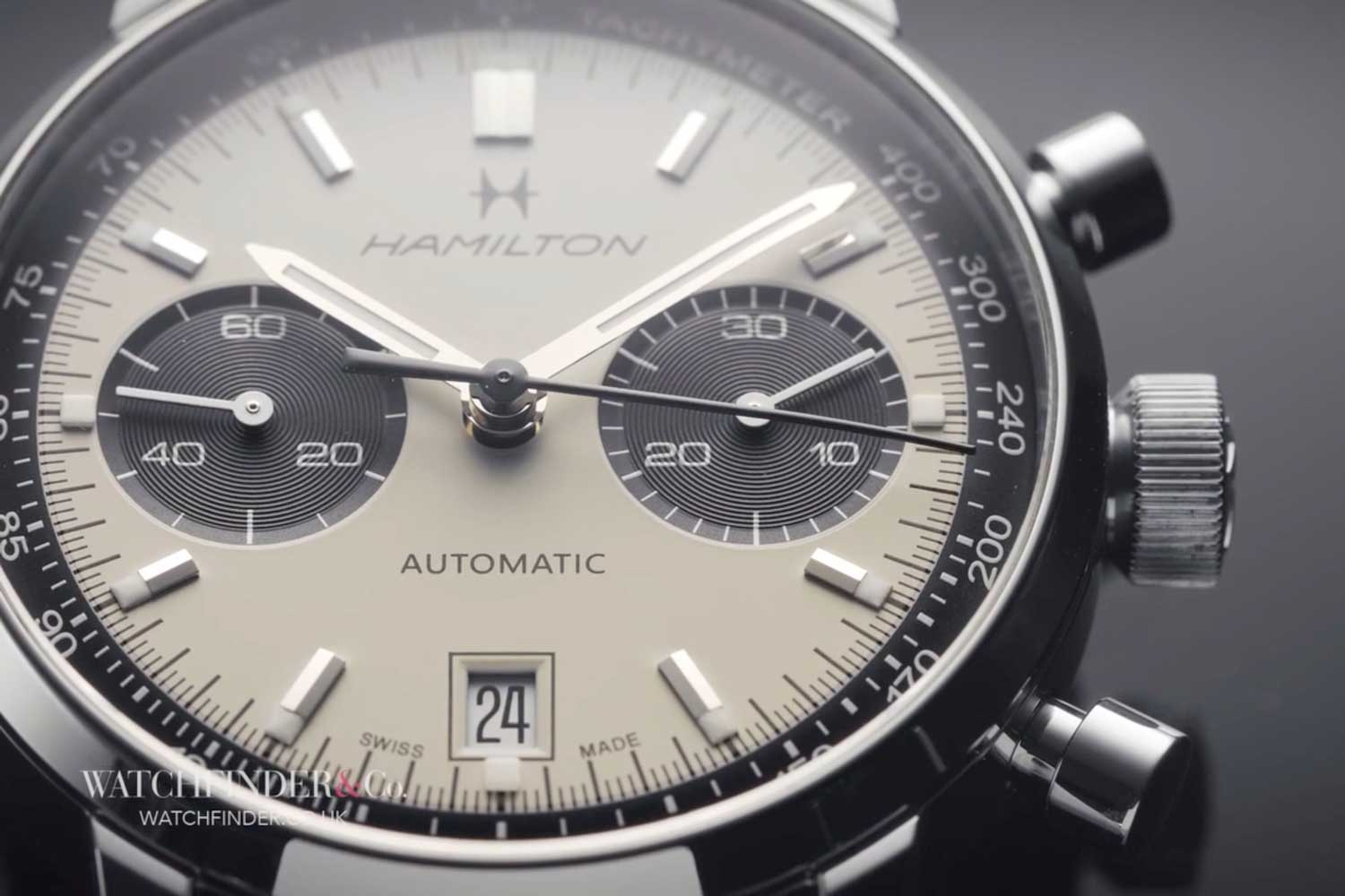 Hamilton's 40mm Intra-Matic is a homage that sticks very close to the 1969 original.