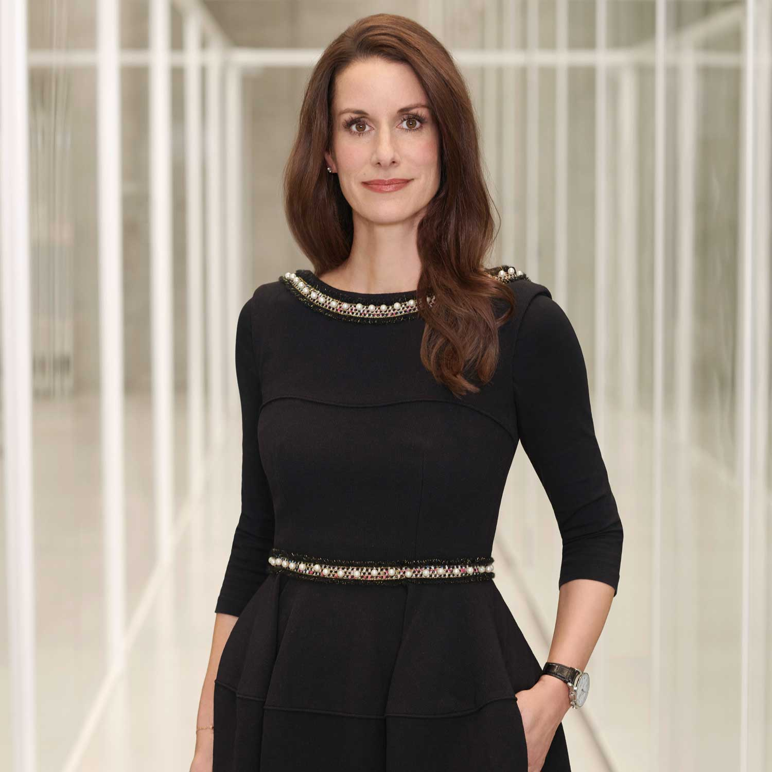 Franziska Gsell, chief marketing officer and chairwoman of IWC's Sustainability Committee.
