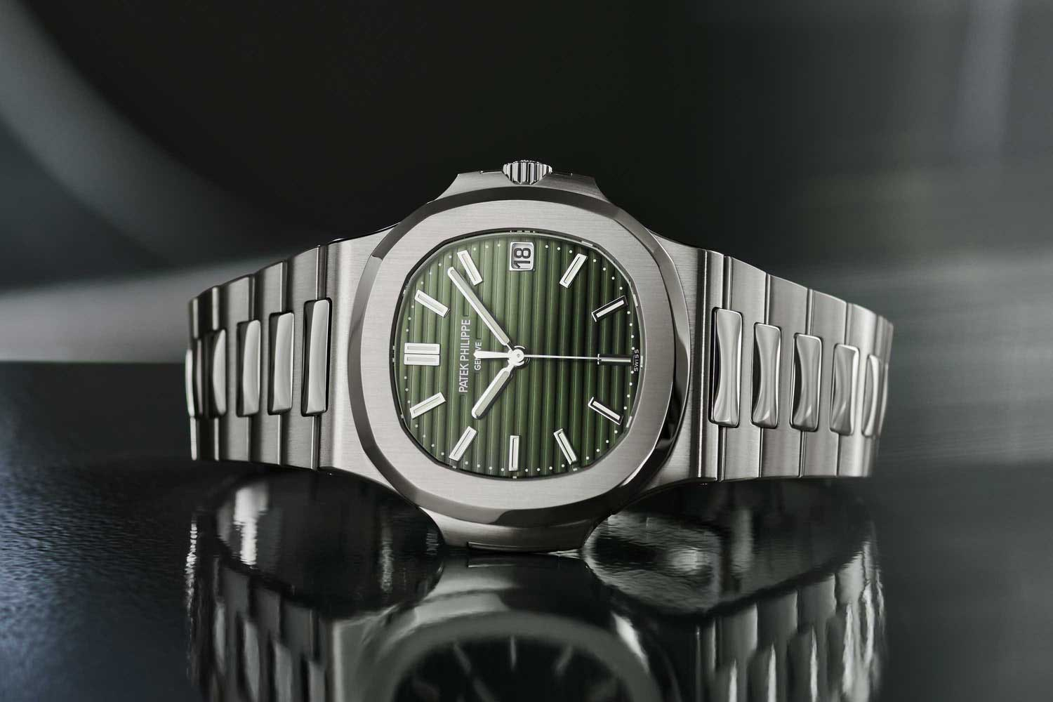 Patek Philippe ref. 5711/1A-014 introduced in April this year.