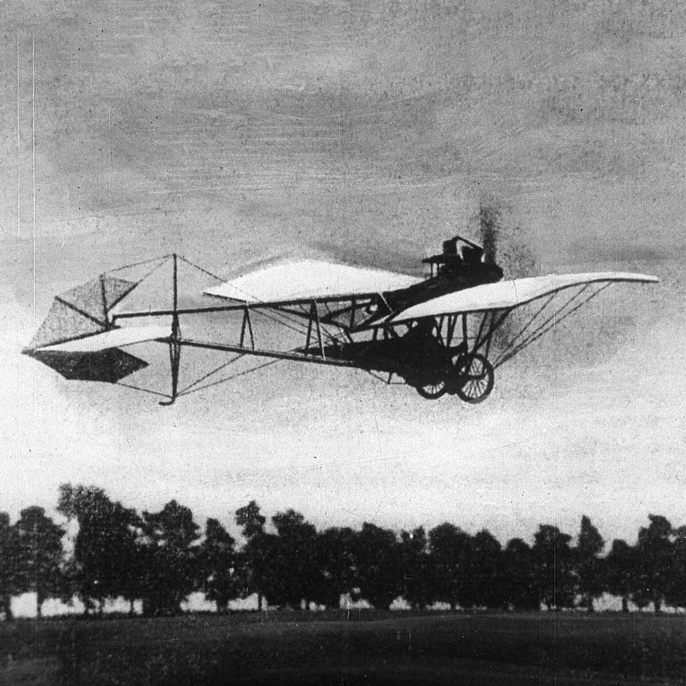 Dumont's La Demoiselle plane